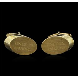 14KT Yellow Gold Cufflinks