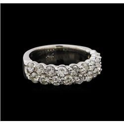 14KT White Gold 1.76 ctw Diamond Ring