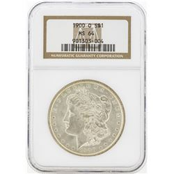 1900-O MS64 NGC Morgan Silver Dollar