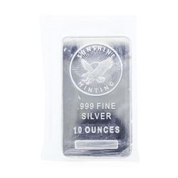 Sunshine Minting 10 Ounce .999 Fine Silver Bar