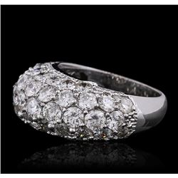 14KT White Gold 5.34 ctw Diamond Ring