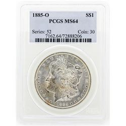 1885-O MS64 Morgan Silver Dollar
