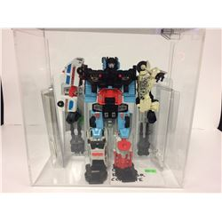 1980 G1 COMPLETE TRANSFORMER MINT IN PLASTIC CASE