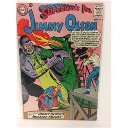 Superman's Pal Jimmy Olsen #84 April (1965) Monster Movie