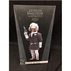 SIDESHOW EXCLUSIVE HAN SOLO HOTH MODEL NEW IN SEALED BOX