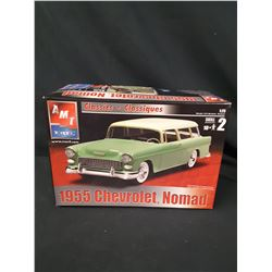 amt 1/25 classic cars 1955 CHEVY NOMAD STATION WAGON (UNBUILT IN BOX)