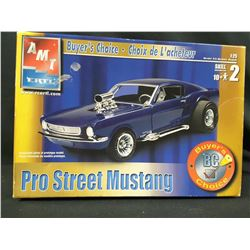 AMT PRO STREET MUSTANG MODEL KIT (UNBUILT IN BOX)