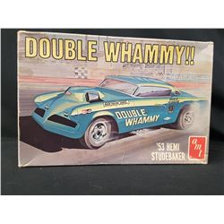 AMT 1953 HEMI STUDEBAKER DOUBLE WHAMMY (UNBUILT IN BOX)
