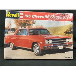 REVELL -  '65 CHEVY CHEVELLE SS 396 Z-16 (UNBUILT IN BOX)