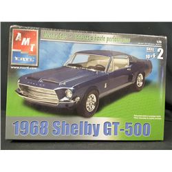 AMT ERTL MUSCLE CARS 1968 SHELBY GT 500 (UNBUILT IN BOX)
