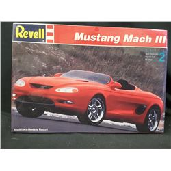 REVELL FORD Mustang MACH III OLD Model Car Mountain KIT 1/25 FS Vintage (UNBUILT IN BOX)