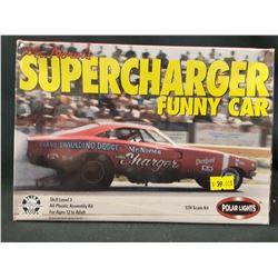 Mr. Norm's SuperCharger Funny Car by Polar Light (UNBUILT IN BOX)