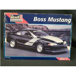 REVELL Shinoda Boss Mustang 1/25 *Rare* SKILL 2 (UNBUILT IN BOX)