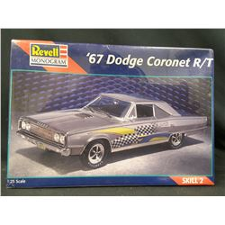 Revell '67 Dodge Coronet R/T 1:25 Scale Sealed Plastic Model 1967 Car Kit Hobby (UNBUILT IN BOX)