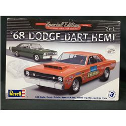 REVELL SPECIAL EDITION 2N1 68 DODGE DART HEMI 1:25 SCALE UNBUILT IN BOX