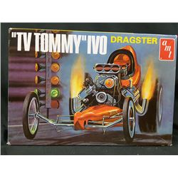 """AMT  """"TV TOMMY"""" IVO DRAGSTER UNBUILT IN BOX"""