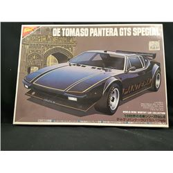 DE TOMASO PANTERA GTS SPECIAL WORLD WIDE WORTHY CAR COLLECTION UNBUILT IN BOX