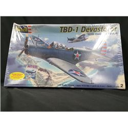 REVELL TBD-1 DEVASTATOR WITH HISTORY BOOK 1:48 SCALE UNBUILT IN BOX