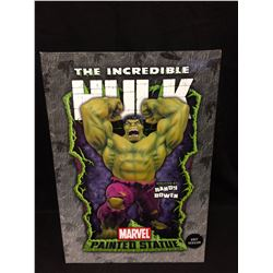 MARVEL PAINTED STATUE THE INCREDIBLE HULK SCULPTED BY RANDY BOWEN