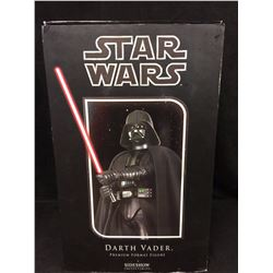 SIDESHOW COLLECTIBLES DARTH VADOR 1/4 SCALE MODEL IN BOX COMPLETE