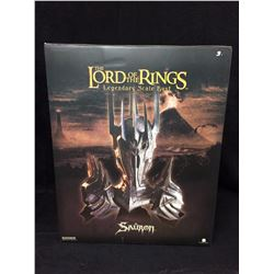 SIDESHOW 1:4 SCALE SAURON BUST NEW IN BOX