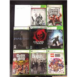 XBOX 360 VIDEO GAME LOT