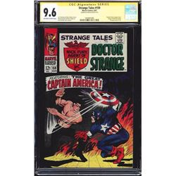 STRANGE TALES CGC 9.6 SIGNED BY STAN LEE