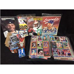 LARGE SPORTS CARD LOT