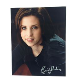 8 X 10 SIGNED PHOTO EMILY PELIS