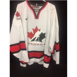 NEW TEAM CANADA OFFICIAL JERSEY WITH TIE DOWN STRAPS
