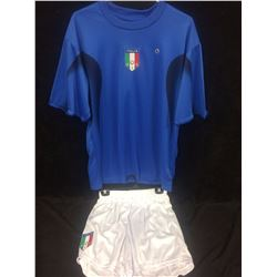 ITALY SOCCER JERSEY AND SHORTS
