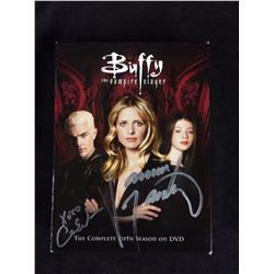 JAMES MASTERS SIGNED BUFFY THE VAMPIRE SLAYER SEASON 5
