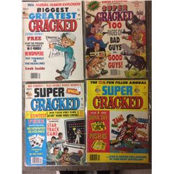 VINTAGE CRACKED MAGAZINE LOT