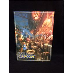 UDONS ART OF CAPCOM GRAPHIC NOVEL SIGNED WITH SKETCH