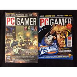 SIGNED PC GAMER PENNY ARCADE BOOKS