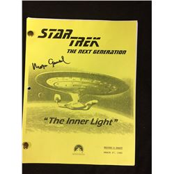 STAR TREK WRITER DRAFT ORIGINAL SCRIPT SIGNED BY MORGAN GENDAL