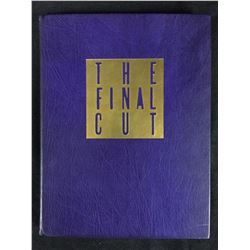THE FINAL CUT LEATHER BOUND LIMITED SCRIPT SIGNED BY ROBIN WILLIAMS