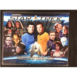 STAR TREK CONVENTION POSTER SIGNED BY 3