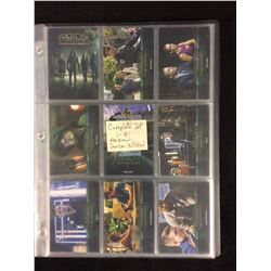 ARROW COMPLETE SET TRADING CARDS
