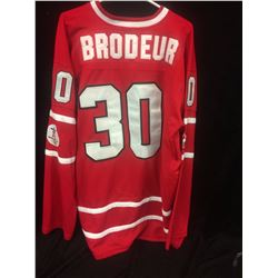 AUTHENTIC MARTIN BRODEUR TEAM CANADA 2010 OLYMPIC JERSEY NEW