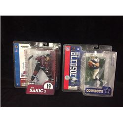 2 MCFARLANE FIGURES IN BOX SAKIC AND BLEDSOE