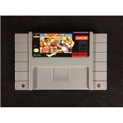 SNES STREET FIGHTER 2 TURBO VIDEO GAME