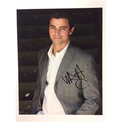 AUTOGRAPHED 8 X 10 MATT COHEN PHOTO