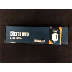 BBC DR WHO SONIC SPORK  BY LOOKCRATE