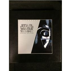 STAR WARS TRILOGY RARE LASER DISK SET