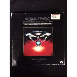 RARE STAR TREK THE MOVIES 25TH ANNIVERSARY COLLECTION LASER DISK SET