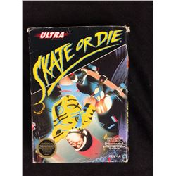 SKATE OR DIE COMPLETE IN BOX FOR NINTENDO
