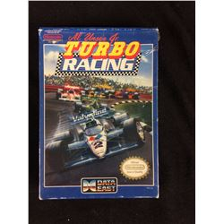 AL UNSER JR TURBO RACING  COMPLETE IN BOX FOR NINTENDO