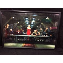 FRAMED STARGATE ATLANTIS CAST SIGNED POSTER WITH COA