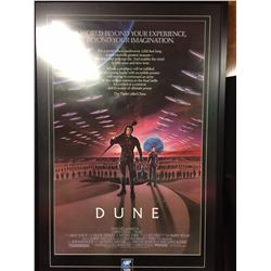 Patrick Stewart Original Theatrical movie poster UV Glass SIGNED BY PATRICK STEWERT WITH COA